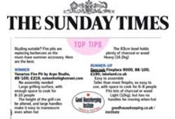 Feature Sunday Times Dancook 9000 Fireplace