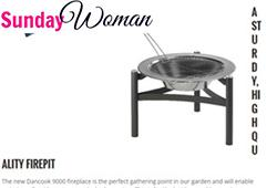 Feature Sunday Woman Dancook Firepit